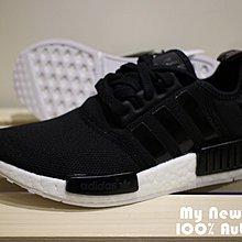 11904f059 全新Adidas Original NMD Runner R1 Boost 黑色女鞋