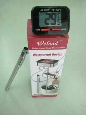 Welead電子溫度計 溫度計算速度很快
