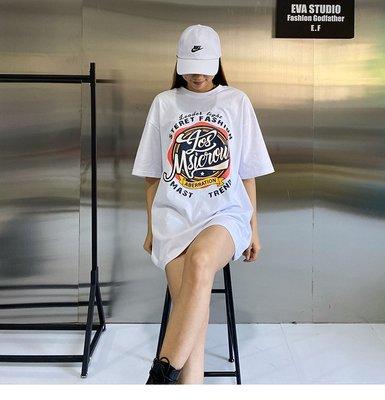 ♡ 右米衣飾 ♡【美式印花T恤】大碼女裝 胖mm 棉花糖女孩 韓系網紅 ins潮 大碼T恤 輕鬆穿搭 美式純棉印花T恤