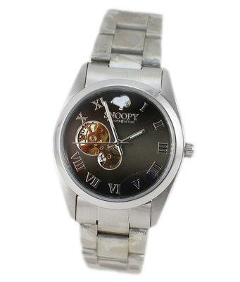 【卡漫迷】 5折出清 限量 史奴比 自動 機械錶 ㊣版 手錶 史努比 男錶 女錶 Snoopy 不鏽鋼 強化 水晶鏡面