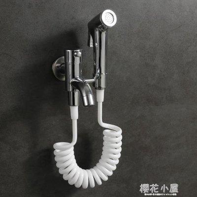 拖把池加長龍頭噴槍沖洗陽臺入牆龍頭婦洗器凈身水龍頭馬桶清潔