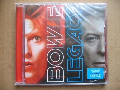 David Bowie - Legacy The Very Best Of Bowie CD (全新) (Feat. Queen, Mick Jagger)