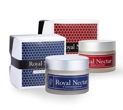 正品 紐西蘭 Royal Nectar 蜂毒面膜+面霜 二件優惠組合 各50ml 直航運送 公司正品貨 疫情促銷價格 明星皇家保養