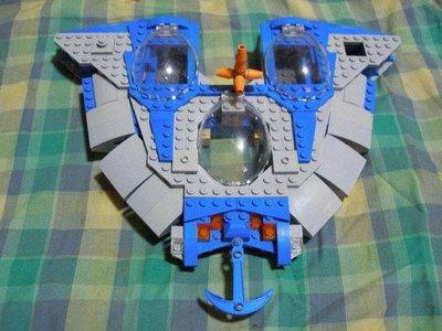 ((缺件品))2012年LEGO樂高9499 星際大戰 STAR WARS Gungan Sub星戰系列A9
