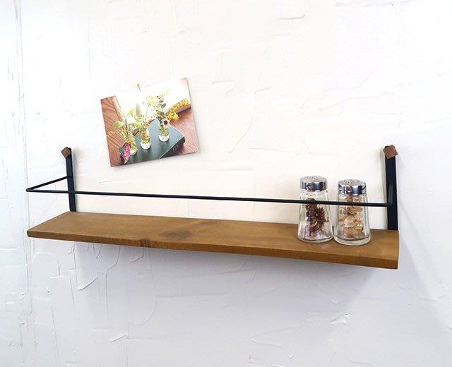 《齊洛瓦鄉村風雜貨》日本zakka雜貨 壁掛收納架 壁掛展示架 釘牆擺放架 牆面裝飾擺放架 居家布置 店家裝飾 (大)