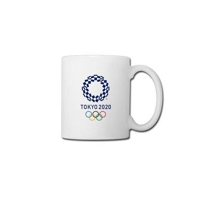TOKYO 2020東京奧運馬克杯咖啡杯陶瓷杯禮品杯茶杯水杯