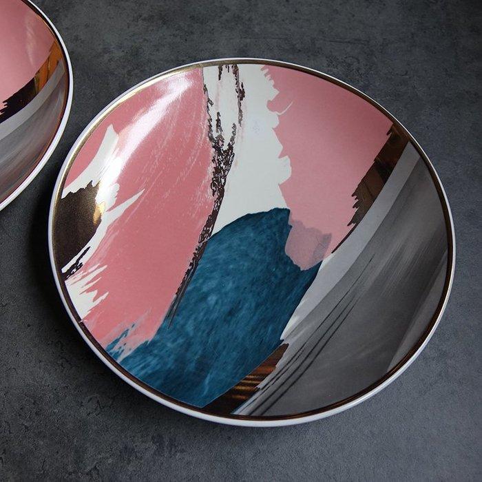 郭公館-NG/SALE渲染風格陶瓷盤