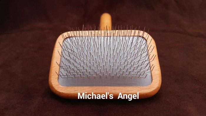 專業寵美工具 麥克天使 匠心方針梳(小)、永備小針梳