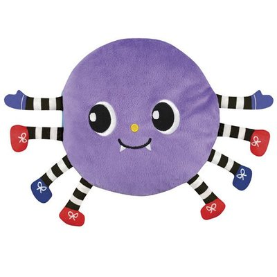 《Read & Play 布書》The Itsy Bitsy Spider 可愛的小蜘蛛 SB00469