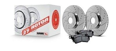 =1號倉庫= HAWK SECTOR 27 碟盤 來令片 套裝組 2013+ SUBARU BRZ FRS
