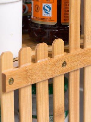 新款家居居家家實木廚房置物架木質多功能調料架調味架家用廚具用品收納架