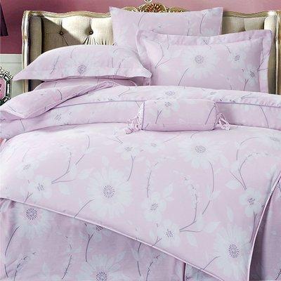 頂級100%純天絲 萊賽爾纖維七件式鋪棉床罩組~雙人5x6.2尺-愛戀花季~免運費~內束高35公分 高雄市