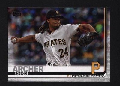 2019 Topps Series 2 #380 Chris Archer - Pittsburgh Pirates