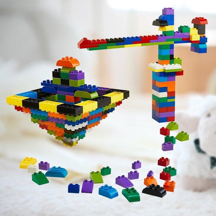 衣萊時尚-塑料大顆粒積木玩具1-2男孩女寶寶益智拼裝拼插兒童玩具3-6周歲7(規格不同價格不同)