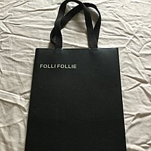 Folli Follie 黑色紙袋