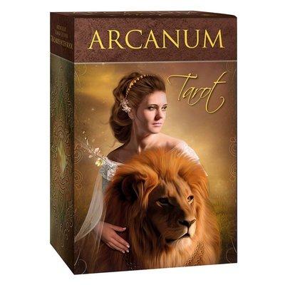 【預馨緣塔羅鋪】現貨正版自然奧秘塔羅Arcanum tarot硬殼精裝版(全新78張)