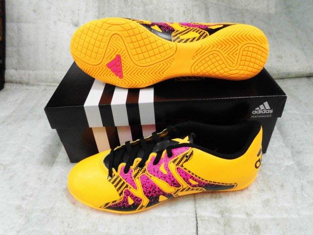 【n0900台灣健立最便宜】(2018世界盃足球賽相關商品賣戈報人來啊)ADIDAS 室內足球鞋 IN S74602