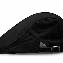 【售完】鴨舌報童帽 街頭潮人鴨舌帽 純色帆布貝雷帽 男女戶外休閒帽 前進帽 588