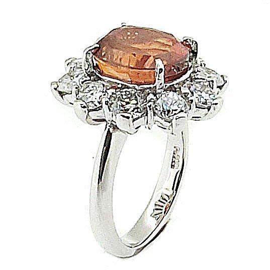 【JHT 金宏總珠寶/GIA鑽石專賣】7.394ct天然黃寶鑽石戒指/材質:PT900(JB41-B14)