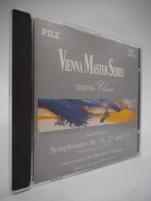 Joseph Haydn/Symphonien Nr. 22, 26, 53_Vienna Master 〖專輯〗CIR