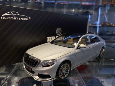 吉華科技@ Almost Real BRABUS 900 Maybach S-Class 銀色 1/18