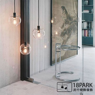 【18Park 】簡約設計 Transparent ball [ TD透明球-40cm 黑色 ]