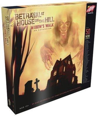 中文電子檔+牌套 Betrayal at House on the Hill Widow's Walk 山中小屋女巫詭步