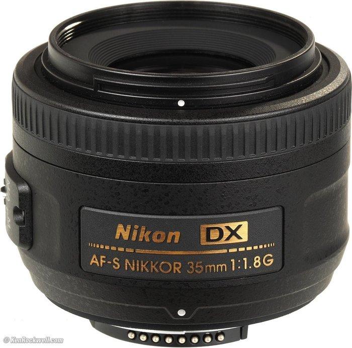 【eWhat億華】Nikon AF-S DX NIKKOR 35mm F1.8 G 人像優質鏡 公司貨 現貨 【1】