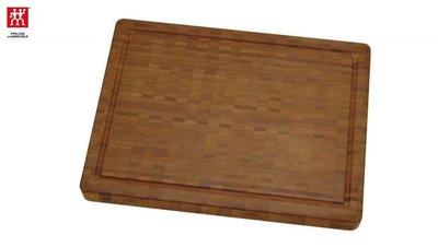 德國 Zwilling 雙人牌 大型 竹製砧板 42 x 4 x 31cm