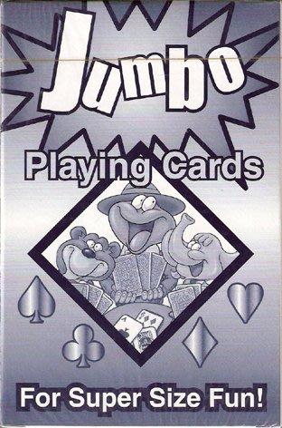 [牌的世界]傳統大撲克牌jumbo playing cards(台灣製)10*15公分
