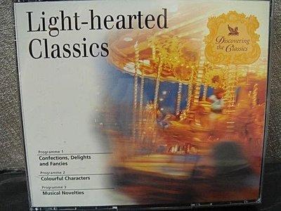 全新正版古典音樂 CD【Light-hearted Classics】,低價起標無底價!免運費!