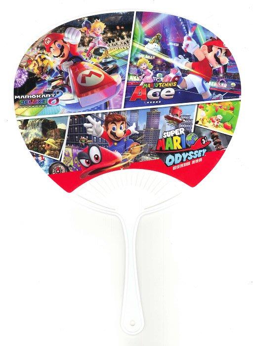[裘比屋]特-NS 瑪利歐網球 王牌高手 特典 涼涼扇 242