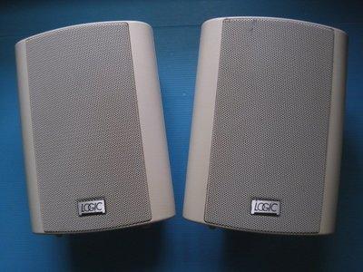 美國邏輯之音LOGIC VS-4.5 環繞被動式小喇叭可直接吊掛 ..圖片內容為實物