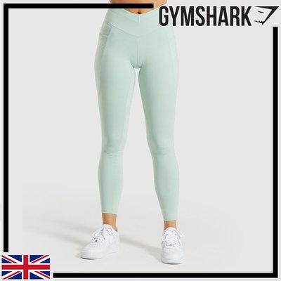 ►瘋狂金剛◄ 淺綠色 GYMSHARK RECESS LEGGINGS 合身緊身褲 彈性 舒適 透氣
