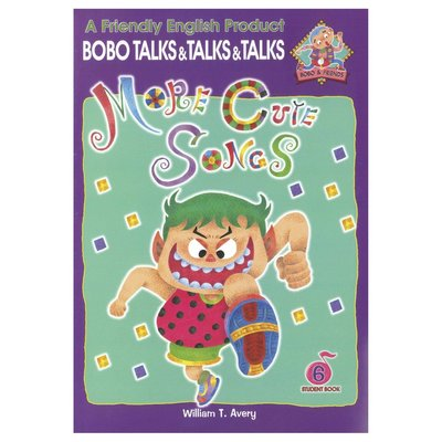 Bobo English learning for kids-Book 6(More cute songs)幼兒美語教材