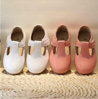 (白#28現貨)Amber's Clothes 復古風瑪莉珍牛皮皮鞋