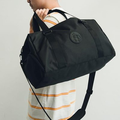 星巴克 休閒背提兩用袋 休閒包 旅遊包 旅行 運動包