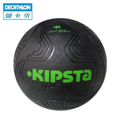 迪卡儂5號足球橡膠球室內外水泥地耐磨足球兒童學生學校訓練足球【非凡女廊】