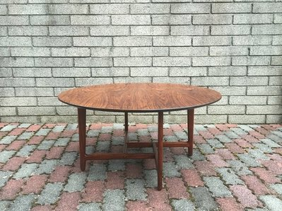 Poul Heltborg Rosewood Round Coffee Table