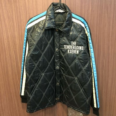ZEKE 保證真品 拍賣唯一 TENDERLOIN T-QUILT RACING JKT 鋪棉 騎士 菱格紋 外套