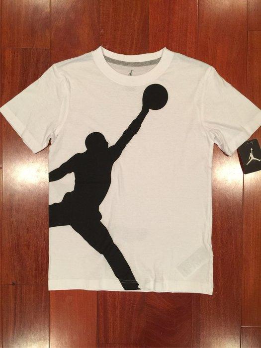 Jordan 男童短T 尺寸M (140-152cm)