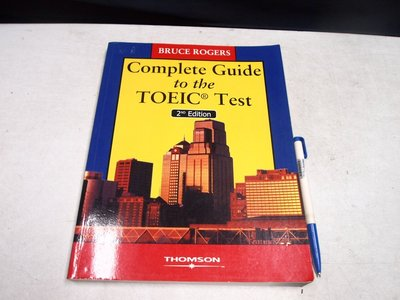 【考試院二手書】《COMPLETE GUIDE TO THE TOEIC TEST》│華泰文化│八成新(B11Z42)