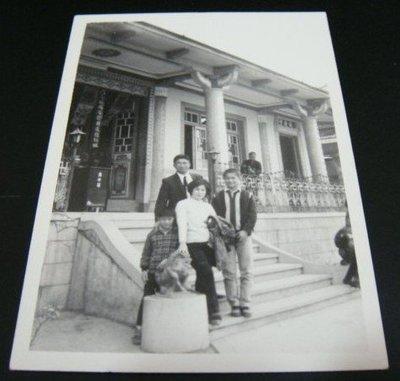 【早期老照片】民國56年代 舊巖廟寺 1張 6.5X9 公分