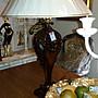 古典雕刻桌燈
