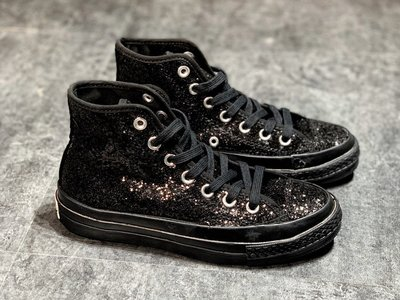 "Converse Chuck Taylor All Star 1970s""After Party"" 歐陽娜娜同款全黑亮片"