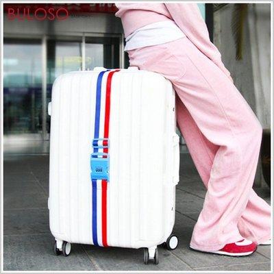 《不囉唆》SAFEBET印花密碼鎖行李帶 出國旅遊/行李箱打包帶 國旗印花/旅行箱捆綁帶(可挑色/款)【A422307】