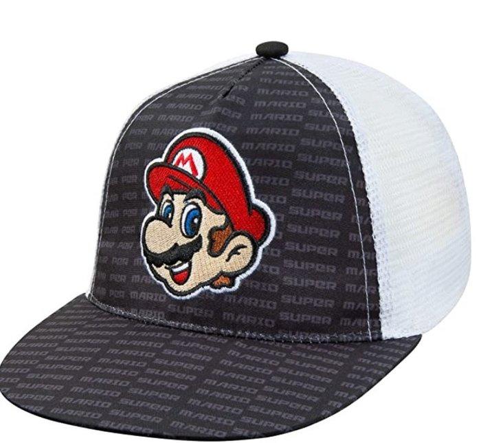 預購 美國帶回 Nintendo Super Mario 超級瑪麗兄弟 童款 可調式造型棒球帽 帽子 休閒帽 官方授權