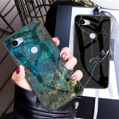 【無殼取代】Google Pixel3a Pixel3aXL  玻璃殼 大理石紋 手機殼