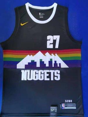 安迪·莫瑞(Andy Murray) NBA丹佛金塊隊 球衣 27號 城市版