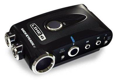 絕地音樂樂器中心 Line 6 BACKTRACK - TOTAL INSPIRATION CONTROL 掌上型錄音